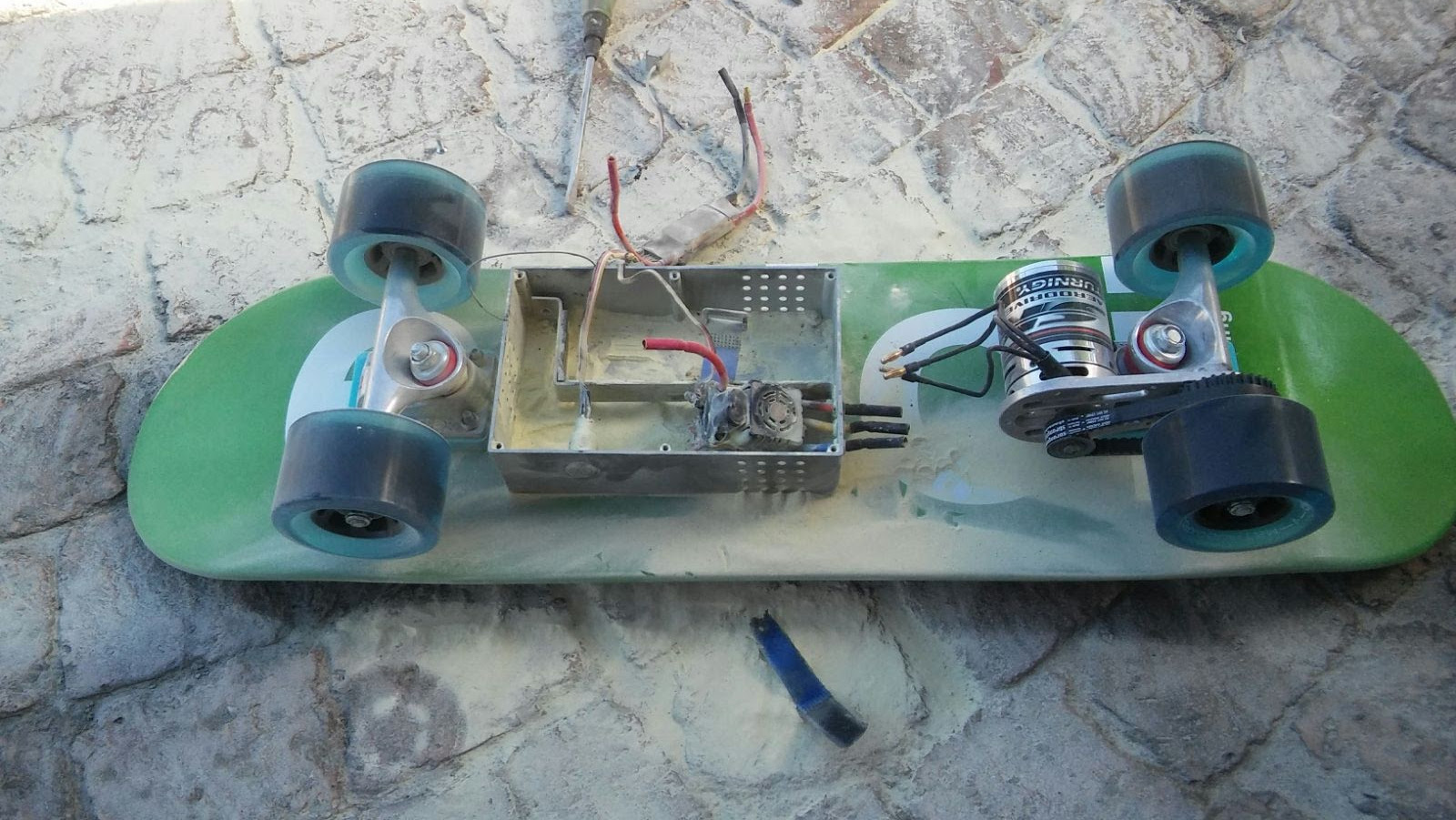 picture of eboard version 1 failure